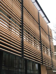 James and Taylor Terracotta Solar Shading