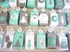 Adventskalender - Adventskalender - ein Designerstück von Emma-Loudo bei DaWanda