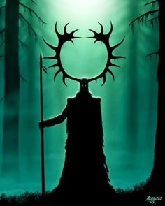 """Cernunnos is the conventional name given in Celtic studies to depictions of the """"horned god"""" of Celtic polytheism. The name itself is only attested once, on the 1st-century Pillar of the Boatmen, but depictions of a horned or antlered figure, often seated cross-legged and often associated with animals and holding or wearing torcs, are known from other instances."""