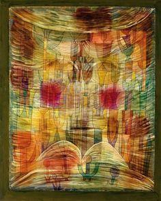 Paul Klee  Fantastic Flora (Phantastische Flora), 1922
