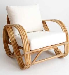 My Island Home   Rattan Pretzel Chairs