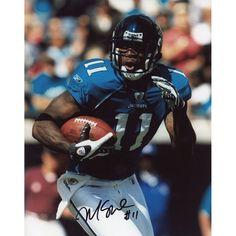 "Mike Sims-Walker Jacksonville Jaguars Fanatics Authentic Autographed 8"" x 10"" Running Ball Vertical Photograph"