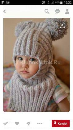 Шапочка-шлем для малышки | Вяз |