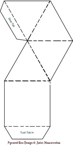 paper pyramid template - Google Search