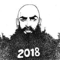 Happy New Beardyear! #avresdesign  #2018 . . . #happynewyear #feliznuevoaño #buonanno #malemodel #gaystud #gaystagram #gaygram #instahomo #sexyboy  #queer #gaygeek  #bara #piercing #nudeoftheday #yaoi #gaybulge #malebody #illustration #drawing #sketch #boyart #man #boy #bearded #loveislove #love