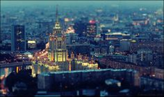 Moscow in miniature