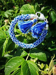 blue bracelet by Manufaktura Leo Leather Working, Friendship Bracelets, Leo, Jewelry Making, Handmade, Hand Made, Jewellery Making, Make Jewelry, Lion