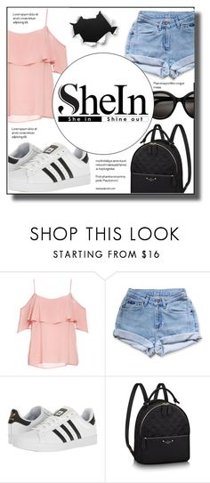 """""""Untitled #152"""" by sano15 ❤ liked on Polyvore featuring BB Dakota, Levi's and adidas"""