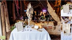 Pimhill Barn Wedding – Sarah and Michael Waves Photography, Daffodils, Birmingham, Barn, Table Decorations, Wedding, Valentines Day Weddings, Converted Barn, Weddings