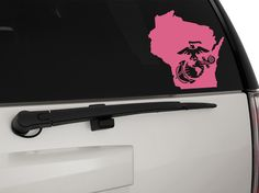 USMC EGA Eagle Globe & Anchor Wisconsin Removable Matte In/Outdoor Vinyl Decal Sticker, MultiPurpose - For Your Auto, Wall, Window and More!  Purchase this product along with all of our other spectacular decals through one of the following links:   https://www.etsy.com/shop/MiaBellaDesignsWI  http://www.amazon.com/s?marketplaceID=ATVPDKIKX0DER&me=A2MSEOIVL689S1&merchant=A2MSEOIVL689S1&redirect=true