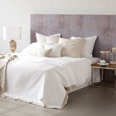 Washed linen bed linen - Collection - Milano collection | Zara Home Sweden