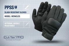PPSS #SlashResistantGloves (Heracles) with optional #needleresistance