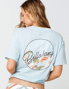 Clueless Quotes, Surf Girl Style, Girls Football Boots, Billabong Women, Surf Outfit, Surf Girls, Cotton Tee, Surfing, Mens Tops