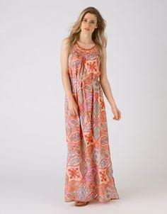 Essential Maxi dress Ameline Embellished Dress | Multi | Monsoon