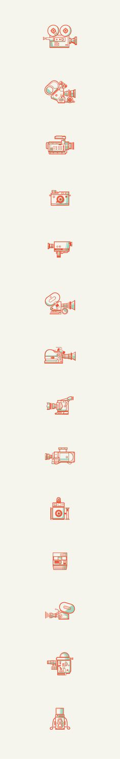 Andres Eraso: Camera Collection on Behance