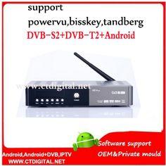 V8 Angel Android 4.4 TV Box than V8 Pro Combo DVB-S2/T2 /C HD Satellite Receiver freesat v7#android satellite box