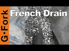 How to tunnel a sidewalk french drain pipe under walk with pop up how to install perforated pipe french drain for do it yourself job youtube solutioingenieria Images