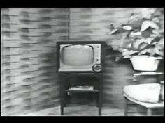 Westinghouse 1951 TV Set commercial