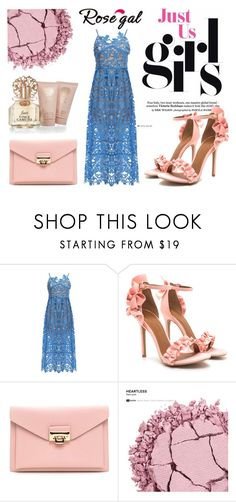 """""""Women fashion #27"""" by mercija ❤ liked on Polyvore featuring Urban Decay, Vince Camuto, dress, women and rosegal"""