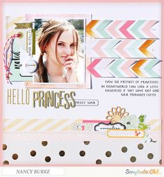 Hello Princess - Scrapbook.com