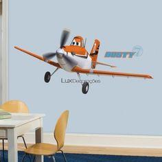 RoomMates Adesivos Disney RMK2289GM Vinil Avião -