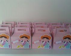 Mini maletinha fazendinha rosa
