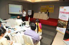 Mr. C.H. Nadiger, Regional Director, EEPC India (SR), presenting on INDEE Kenya & INDEE Peru