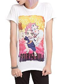 HOTTOPIC.COM - Fairy Tail Natsu Girls T-Shirt