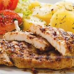 Kurczak w ziołach z grilla Grilling Recipes, Steak, Food, Essen, Steaks, Meals, Yemek, Eten, Barbecue Recipes