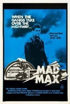 Mad Max Movie poster Metal Sign Wall Art 8in x 12in