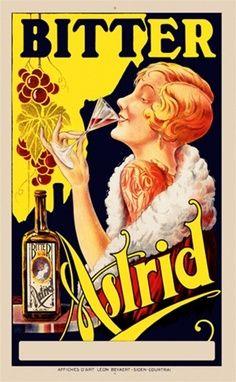 Vintage Advertising Poster | Women