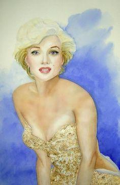 """Marilyn Monroe"" by Anita McGurran Marilyn Monroe Artwork, Marylin Monroe, Mazzy Star, Family Canvas, Art Terms, Buy Prints, Framed Prints, Canvas Prints, Framed Wall"