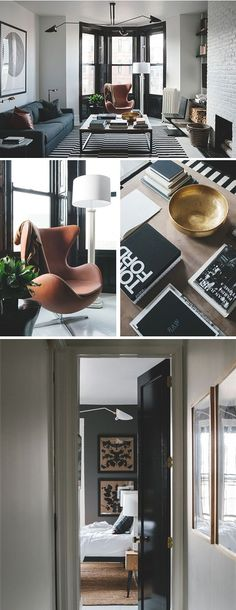 Chic et sobre | salon, living room