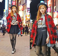 Shibuya Lights BY CAMILLE C., 25 YEAR OLD FASHION DESIGNER/BLOGGER AT ITSCAMILLECO.COM FROM MANILA, PHILIPPINES