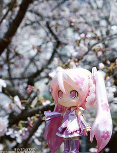 Good Smile Company announces Nendoroid Sakura Miku SGCafe