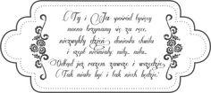 Digi stemple by AliceCreations: Ślubne cytaty