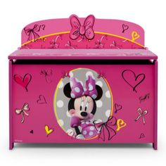Disney Minnie Deluxe Toy Box  found at @JCPenney