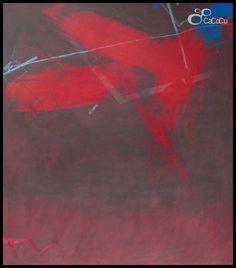 """""""Sin título"""" J. Doña. Técnica mixta sobre tabla. Dimensiones: 170 x 195 cm"""