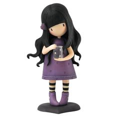 """Gorjuss Figurine """"We Can All Shine"""" - Ideas and Inspiration for my next polymer clay creations / #Handmade it's better / Craft and art works suggestions"""