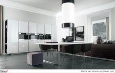 Matrix - Varenna - design paolo piva - kasten - keukenkasten - inbouwapparatuur - tafels - eettafels