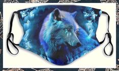 (This is an affiliate pin) Happystar Merry Christmas Protective_Mask_Three-Dimensional Santa Claus Pumpkin Pattern Printed Washable and Reusable_Mask_Face_Bandana for Adults Fantasy Wolf, Face M, Pet Dander, Face Contouring, Protective Mask, Headband Styles, Three Dimensional, Allergies, Print Patterns