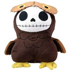 Brown Owl Hootie Furry Bones Collectible Stuffed Plush Doll ** Want to know more, click on the image. (This is an affiliate link) #Puppets