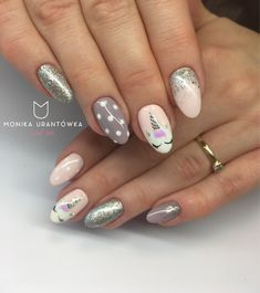 Unicorn Nails art