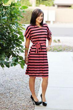 Audrey Dolman Dress PDF sewing pattern for by SeaminglySmitten