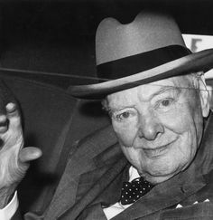 """""""Attitude is a little thing that makes a big difference."""" -- Winston Churchill"""