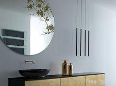 Runder Spiegel zur Wandmontage ROUND by RIFRA