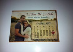 Rustic Save the Date by TheItDesign on Etsy