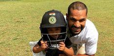 Watch Shikhar Dhawan Shares An Adorable Playful Video of His Son Zoravar Shikhar Dhawan, Sons, Play, Watch, Clock, My Son, Guys, Children