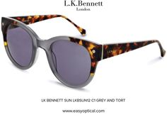 LK BENNETT SUN LKBSUN12 C1 GREY AND TORT Uk Companies, Lk Bennett, Bond Street, Eyewear, Sun, London, Luxury, Grey, Design