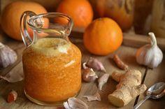 niebo na talerzu - Blog z przepisami na specjały domowej kuchni Hot Sauce Bottles, Food To Make, Pear, Cheese, Homemade, Fruit, Drinks, Cooking, Healthy